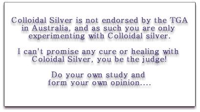 Colloidal Silver Australia Animals